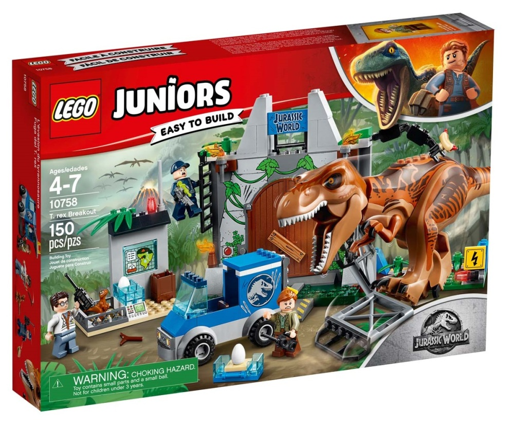 Out of the Toy Box #4: Jurassic World: Fallen Kingdom LEGO sets ...