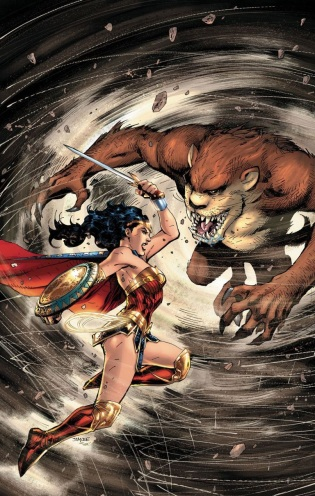 Wonder Woman Taz