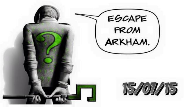 Escape from Arkham Night 1