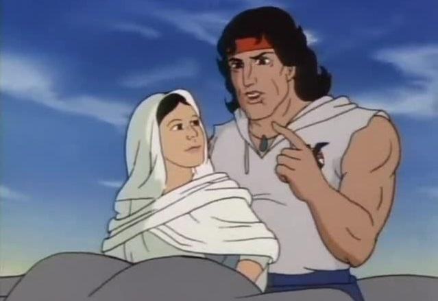 Rambo cartoon