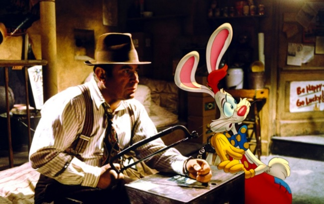 Roger Rabbit handcuff scene