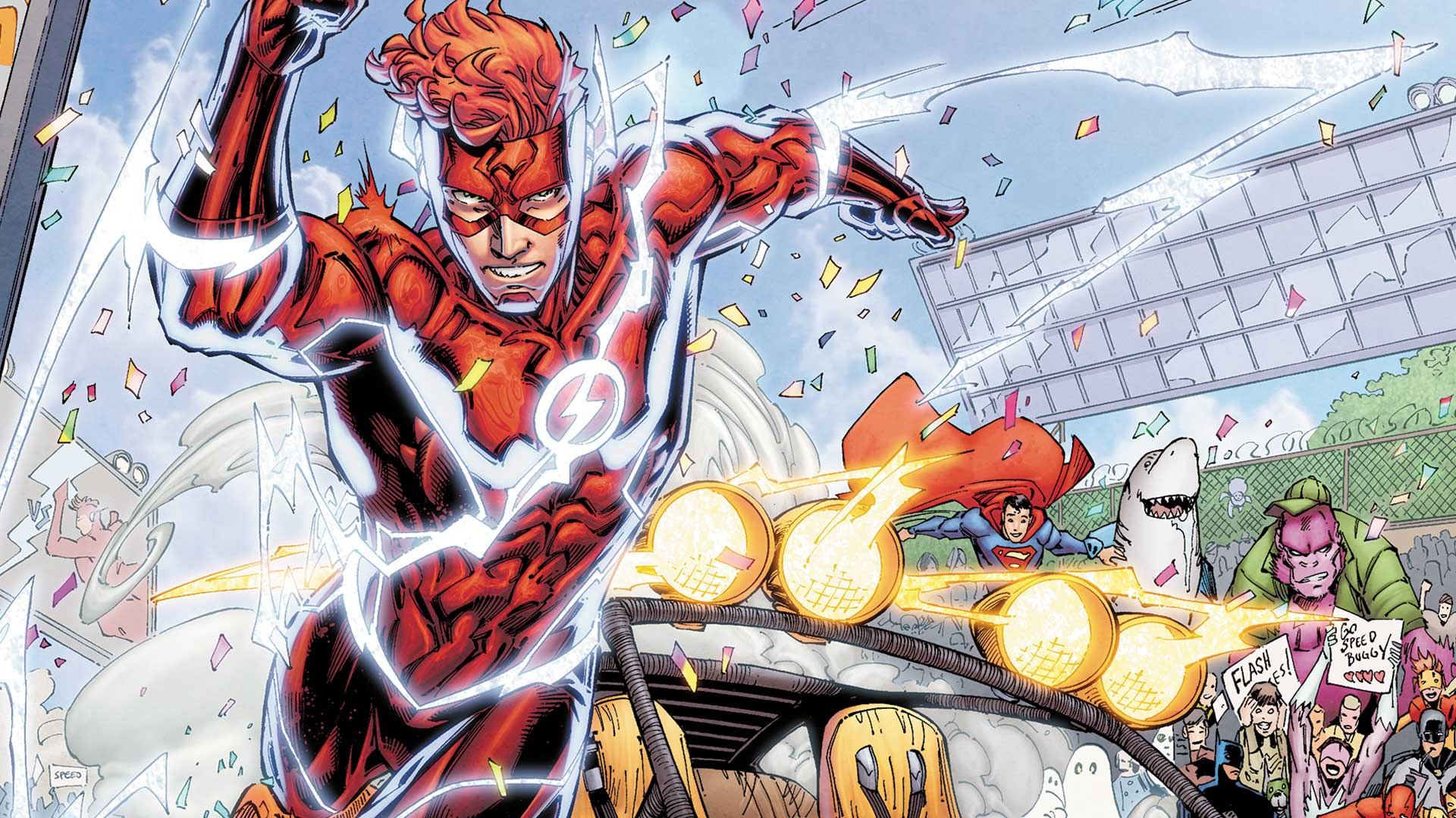 The Flash Speed Buggy