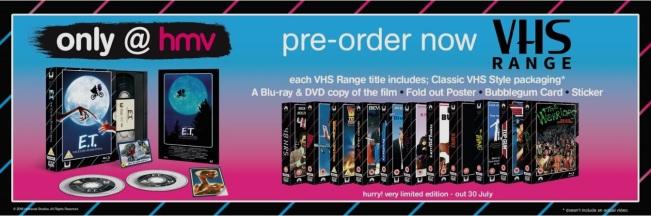VHS blu ray