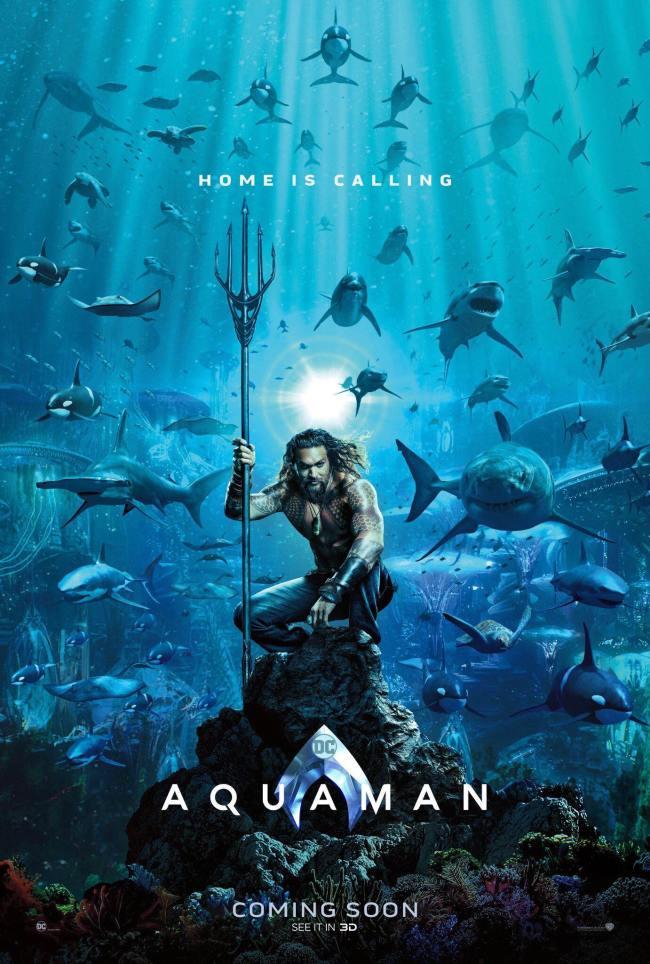Aquaman 2018 poster