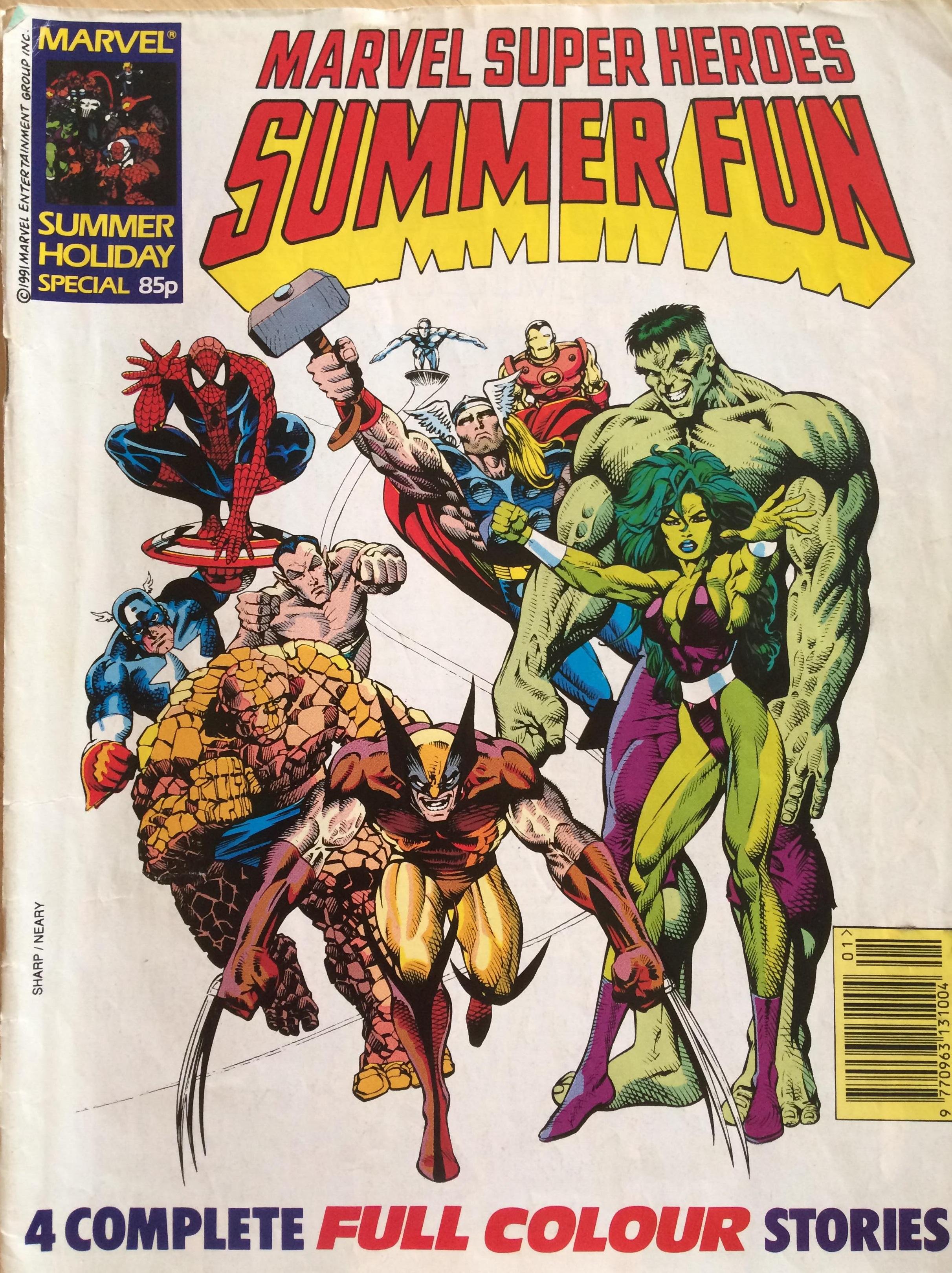 Marvel Summer Fun 4