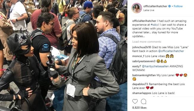 Teri Hatcher San Diego Comic-Con