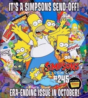 The Simpsons Comic Cancelled