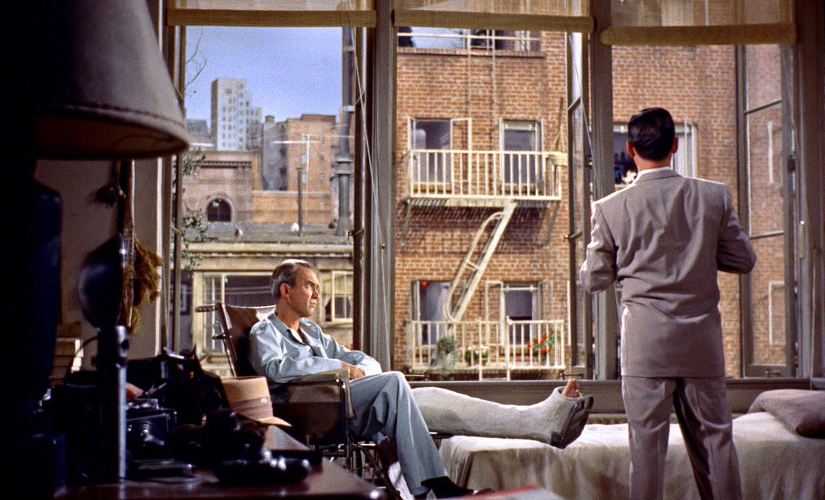 Rear Window apartment