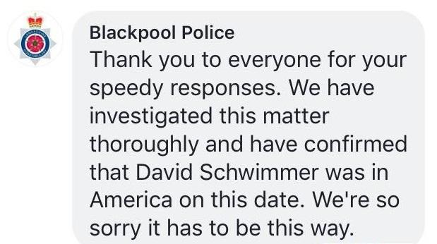 Blackpool Police Friends