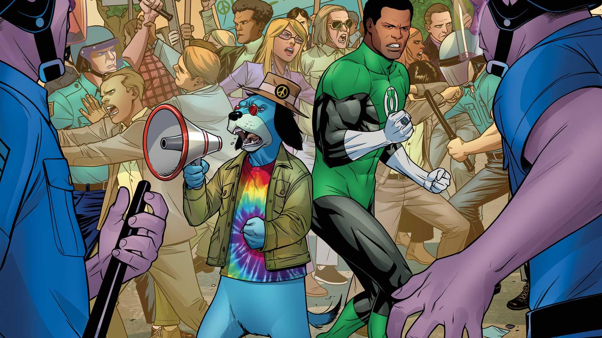 Green Lantern Hucklberry