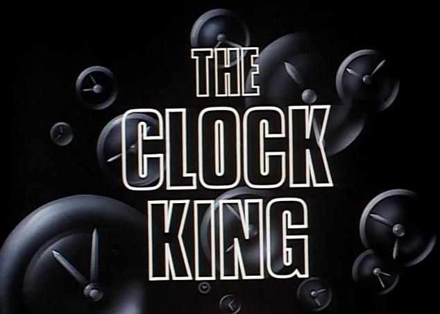 The Clock King Batman